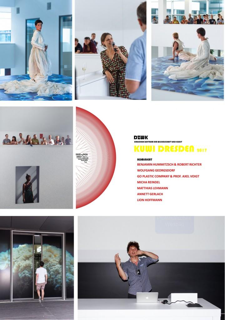 KUWI DRESDEN NOMINIERUNG 2017 zum PLASMA release im CRTD, Fotos: Nils Stelte